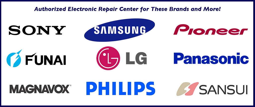 Factory Authorized Repair Center for Many Brands!