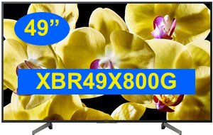 XBR49X800G Sony 4K Smart TV